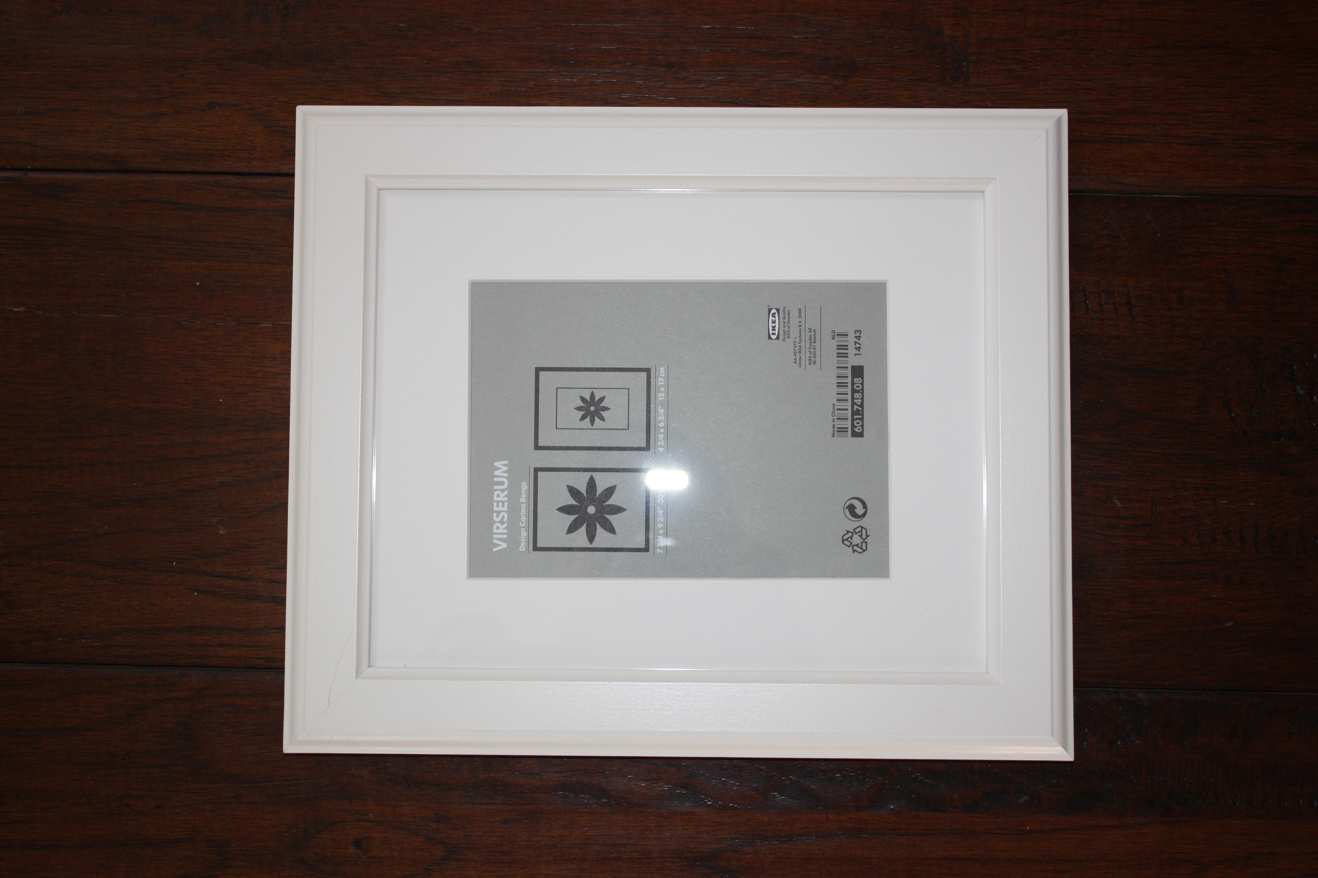 1 we started with three inexpensive frames from ikea less than 10 per frame to create