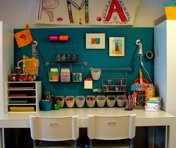 Kids Homework Space