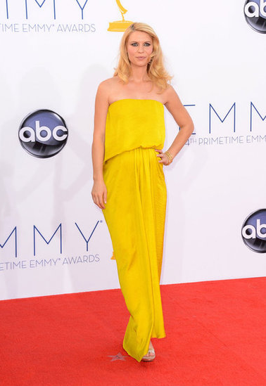 Claire Danes Yellow Dress