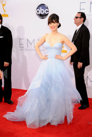 Zooey Deschanel Emmy's Dress