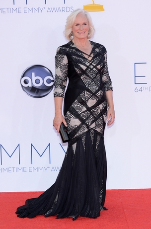 Glenn Close Emmy Gown