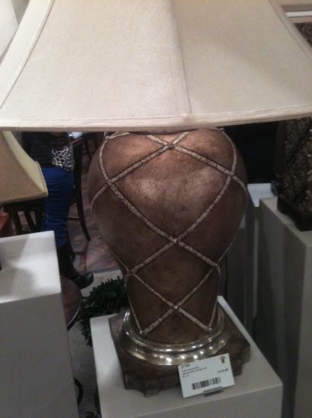 CrissCross Table Lamp