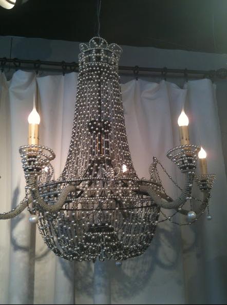 funky chandelier