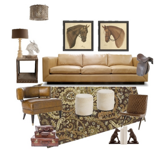 Equestrian home elements
