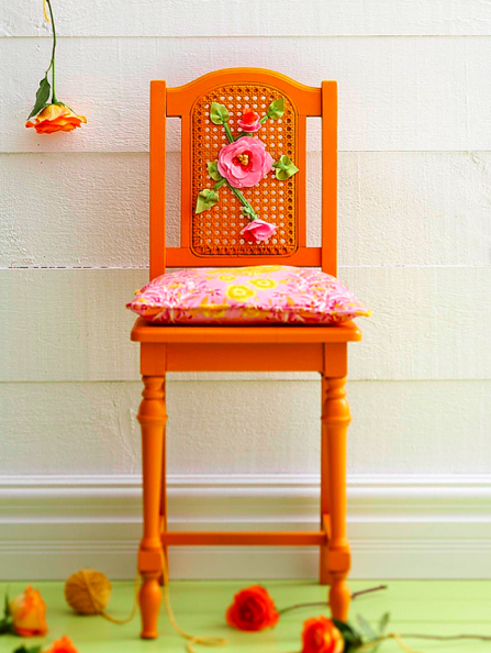 diy refurbished chair