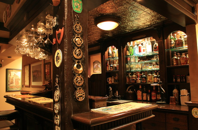 Have A Pint English Pub Style Basements Inspired Design