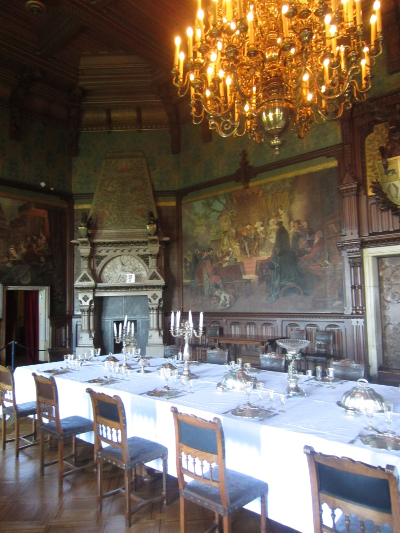 Wernigerode Castle Ornate Dining Room