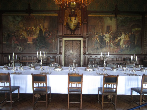 Wernigerode Castle Dining Room