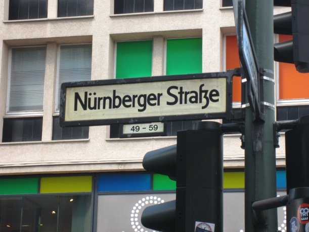 Berlin Street Sign