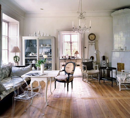 French Eclectic Interior Design Ideas
