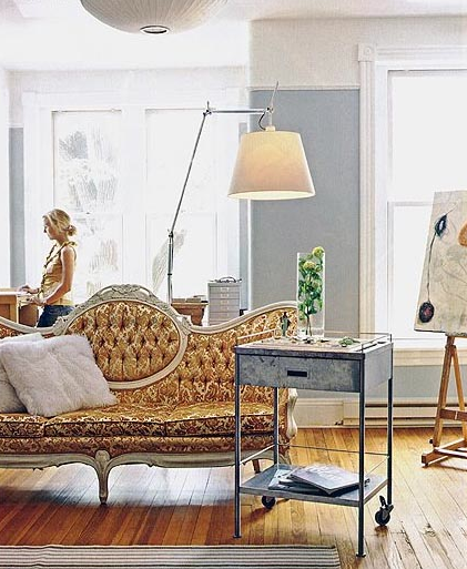 Style files french eclectic inspired design for French eclectic