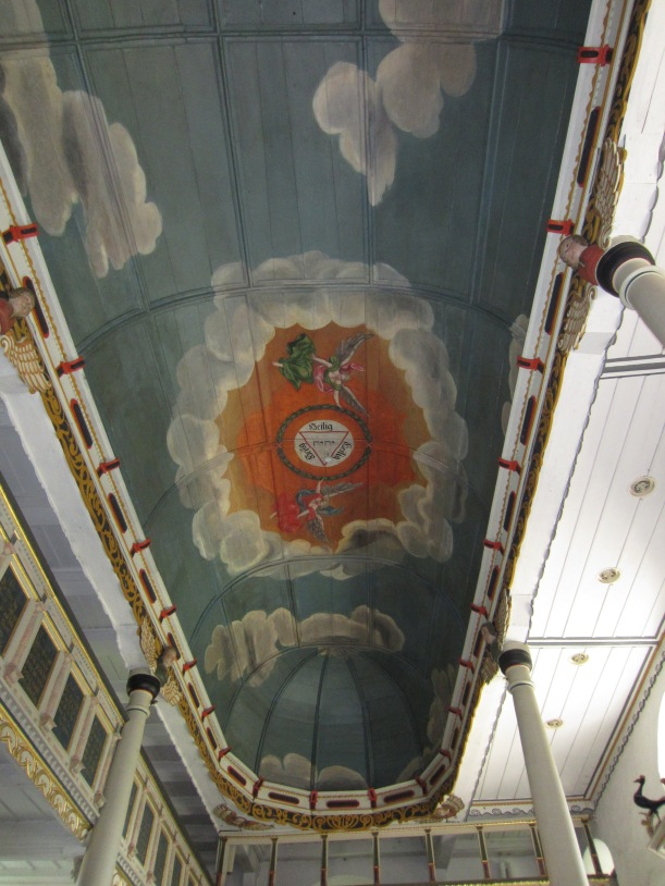 Church ceiling 1700s