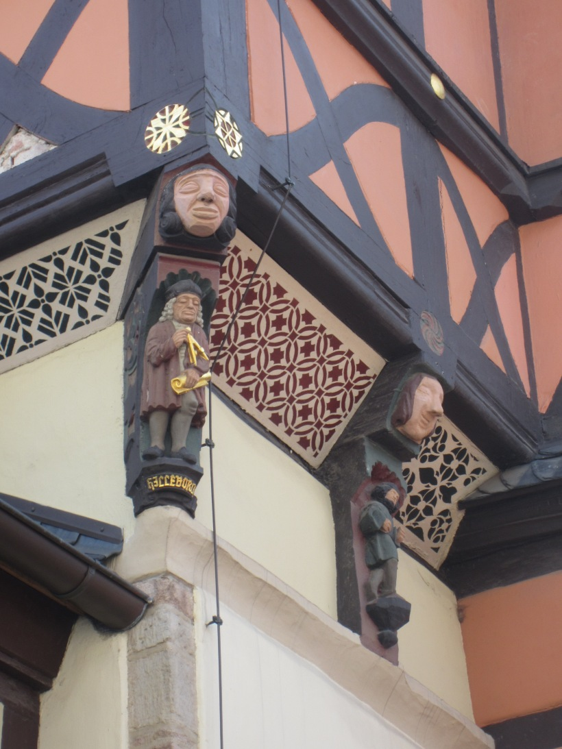 German architectural details