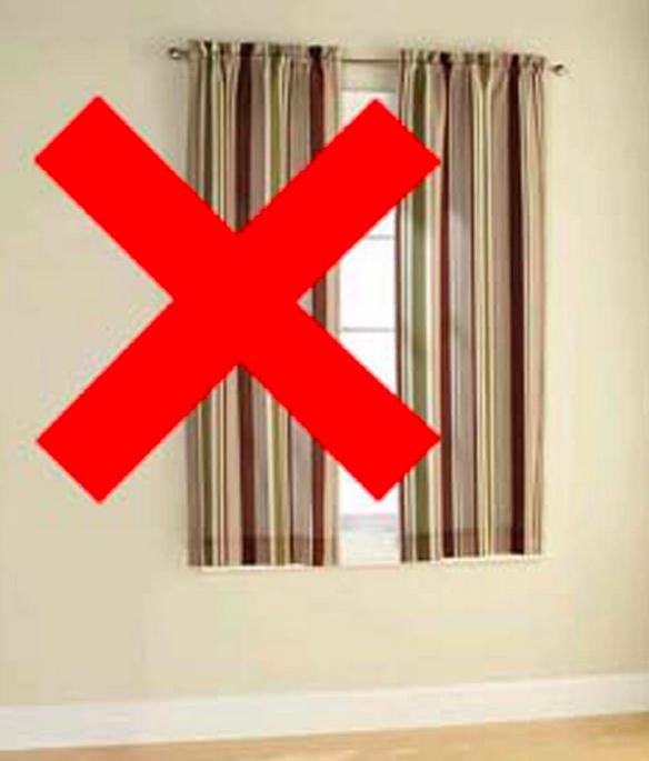 Window treatment mistakes