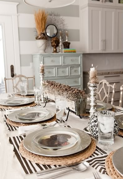 DIY Thanksgiving Table Decor