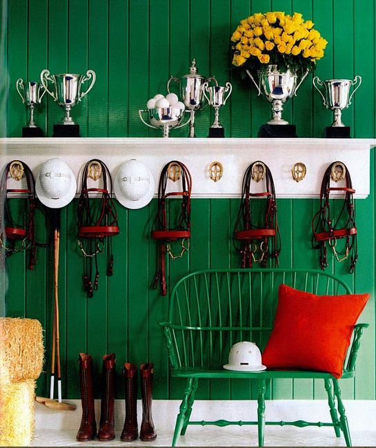 Equestrian interior design