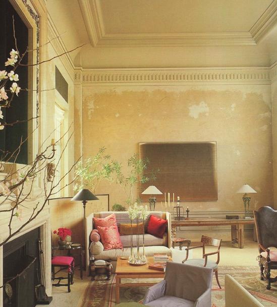 rustic luxe interior