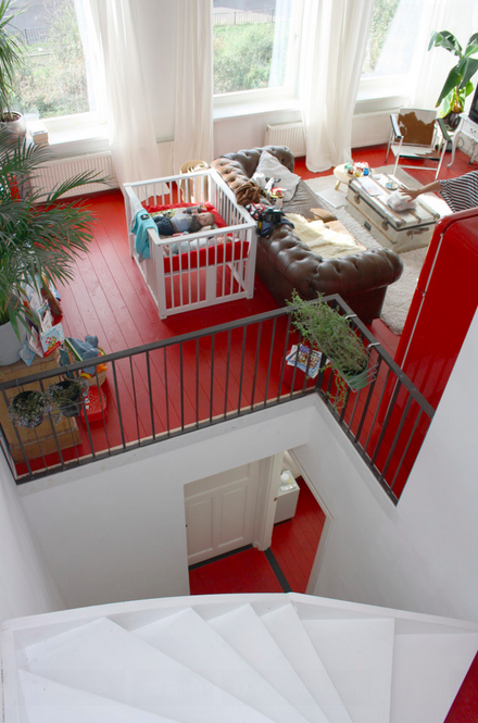 red floors